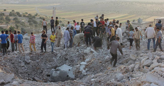 Suriye'de yine siviller öldü