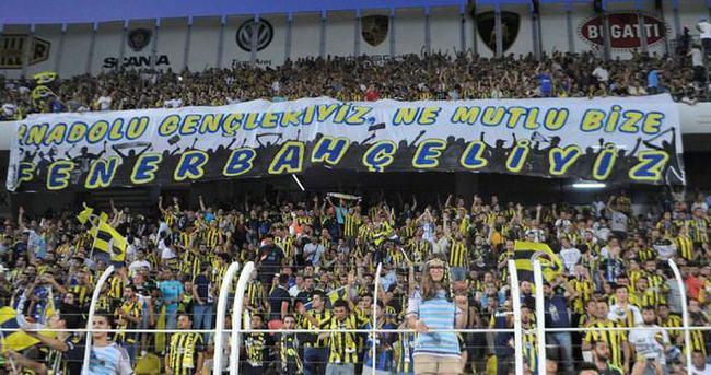 Fenerbahçe'den taraftara teşekkür