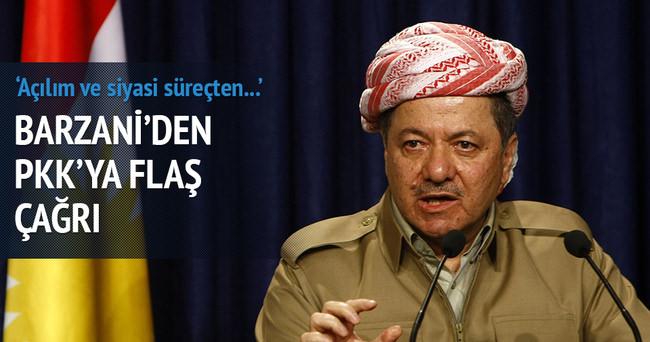 Barzani'den PKK'ya silahı bırak çağrısı