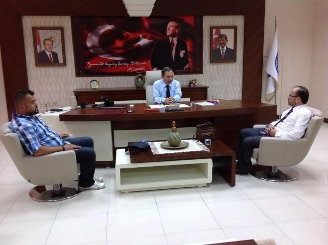 Avrupa Zonguldaklılar Derneği TSO İle Belediyeyi Ziyaret Etti
