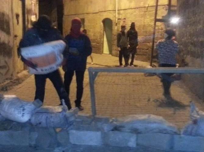 YDG-H'lilerin Kazdığı Hendek Polis Tarafından Kapatıldı