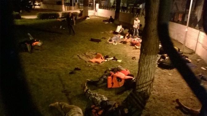 İzmir'de 39 Kaçak Göçmen Yakalandı