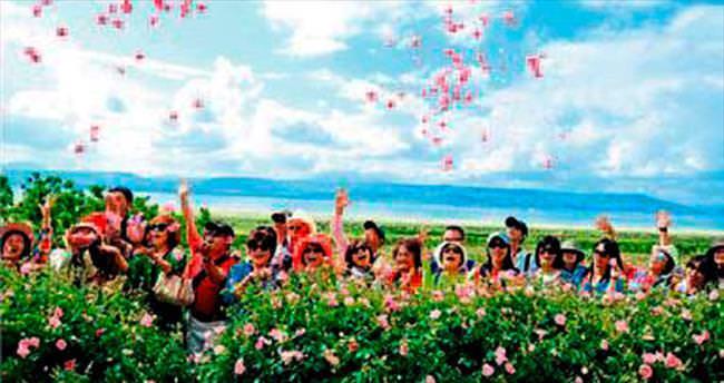 Isparta'ya gelen turist sayısı arttı