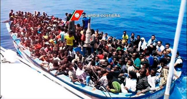 1800 mülteci ölümden döndü