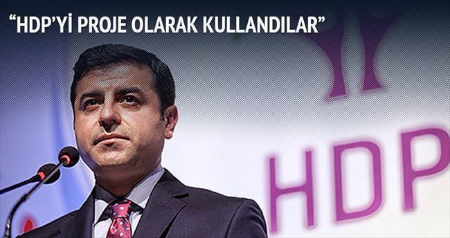 'Çözüm Süreci'nin düşmanları HDP'yi proje olarak kullandı'