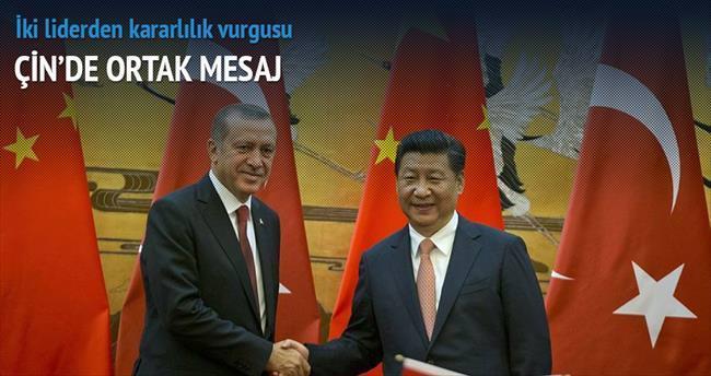 Çin'de ortak mesaj: Terör düşmanımız