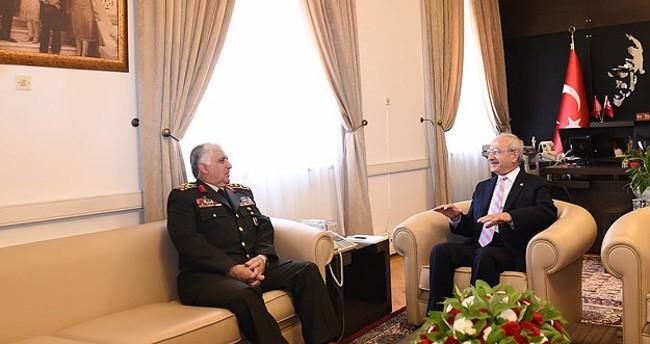 Genelkurmay Başkanı Özel Kılıçdaroğlu'nu ziyaret etti