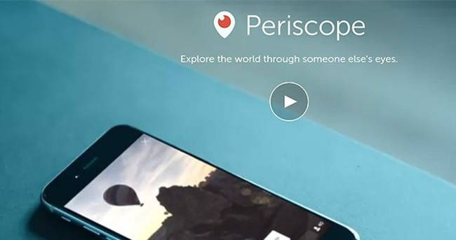 'Periscope'a erişim engellenebilir'