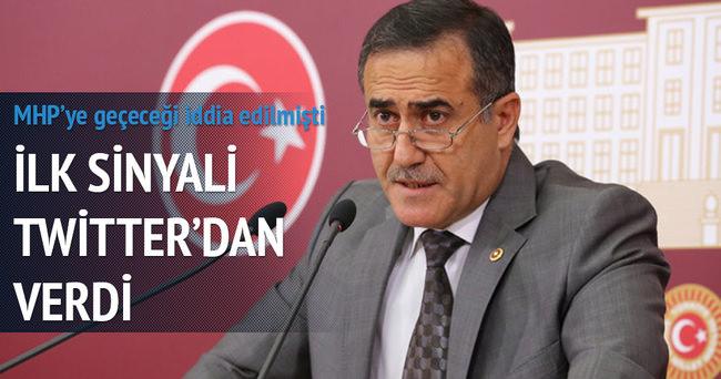 CHP'den istifa eden Özkes'ten Bahçeli'ye destek
