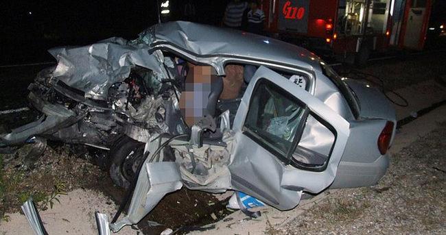 Yozgat'ta feci kaza: 2 ölü, 3 yaralı