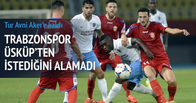 Trabzonspor Üsküp'ten istediğini alamadı