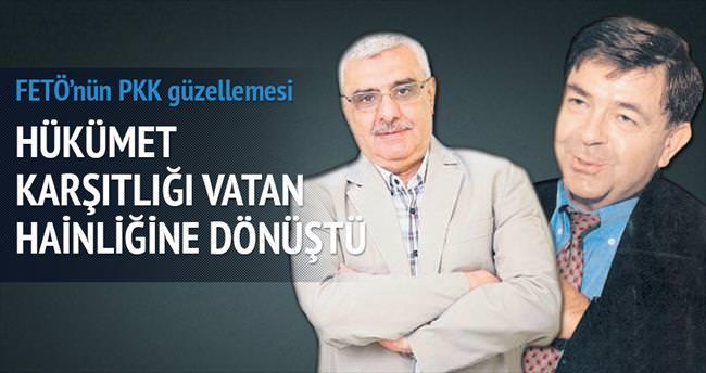 FETÖ'nün yazarlarından PKK güzellemesi