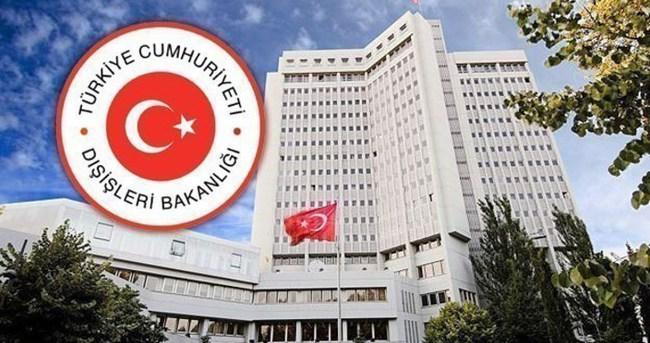 Türkiye İsrail'i kınadı