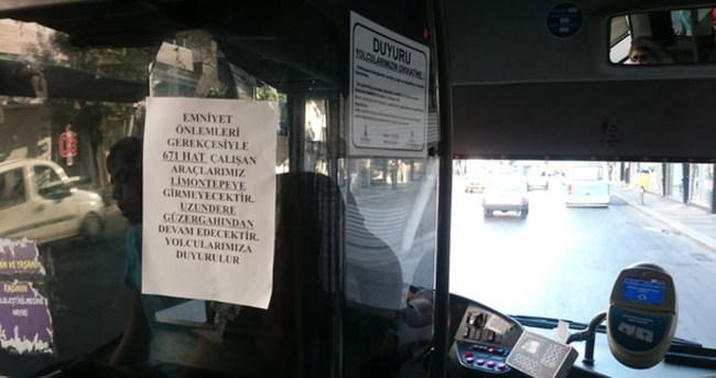 İzmir'de otobüsler kenar mahallelere gitmiyor