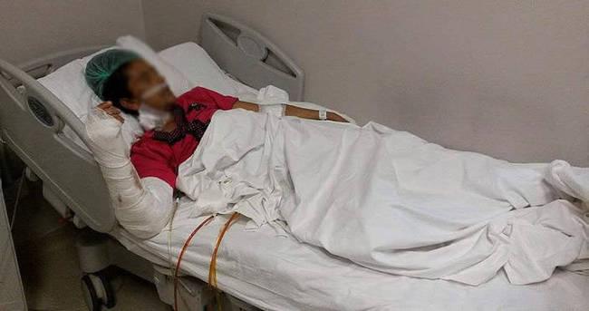 Eşi minibüste 18 yerinden bıçakladı