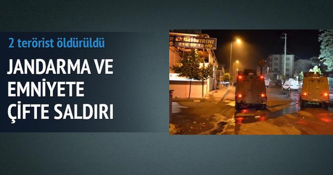 Çatak'ta jandarma ve emniyete saldırı: 2 PKK'lı ölü ele geçirildi