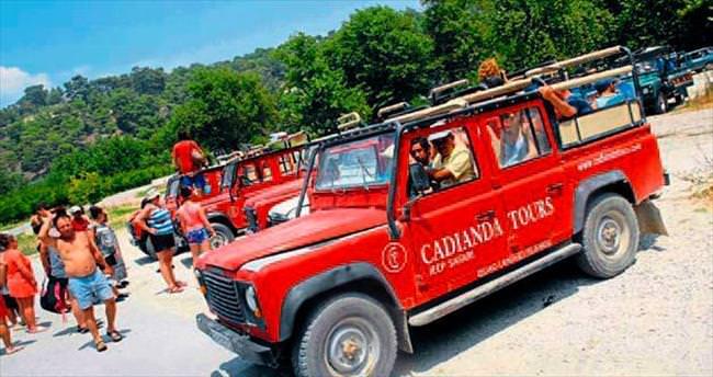Safari turları kontrol altında