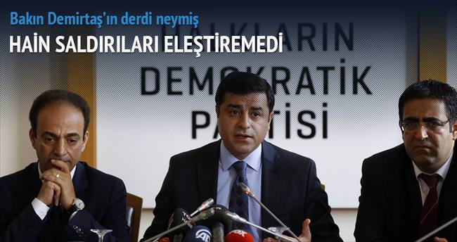 Demirtaş'tan TSK'ya küstah çağrı