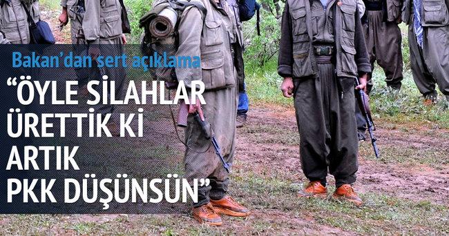 Bakan Işık: Öyle silahlar ürettik ki PKK düşünsün