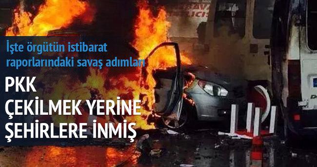 PKK'lılar çekilmedi şehre indi