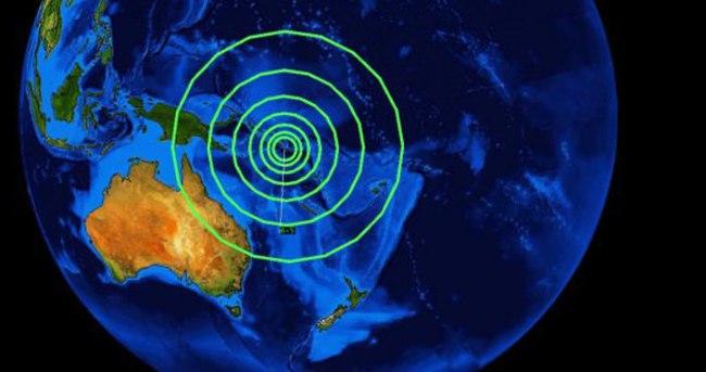 Avustralya'da 5,7 büyüklüğünde deprem
