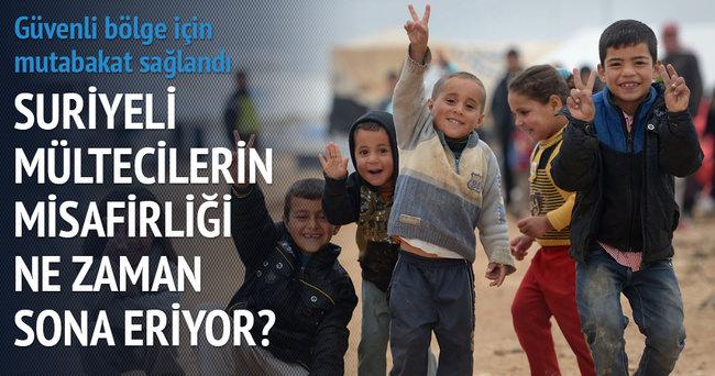 Plan işlerse Türkiye'deki Suriyeliler gidecek