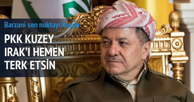 IKBY: PKK Kuzey Irak'ı terk etsin