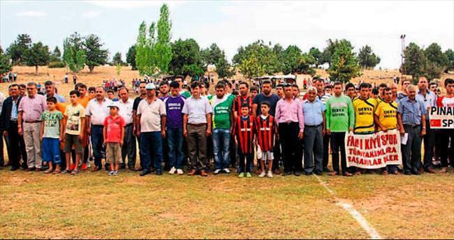 Yaylada futbol şenliği başladı