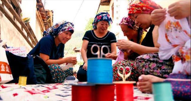 Japonlar Müşküle'de köy hayatını öğrendi