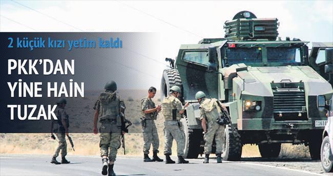 PKK'dan yine mayınlı tuzak: Uzman çavuş şehit