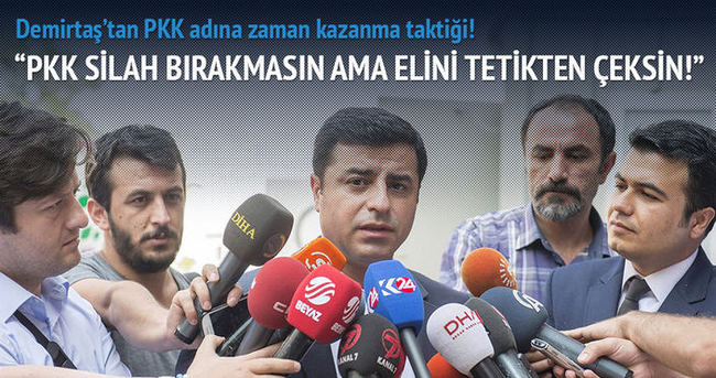 HDP'den PKK'ya çağrı