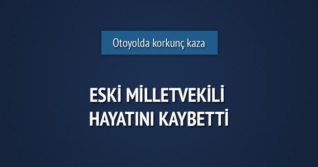 21. dönem MHP Tokat milletvekili Lütfi Ceylan, kazada hayatını kaybetti