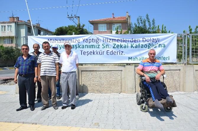 Başkan Kafaoğlu'na Hizmet Teşekkürü