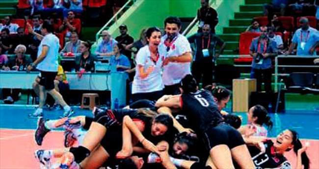 Türkiye'ye altın madalya