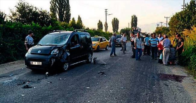 Ödemiş'te kaza: 1 ölü
