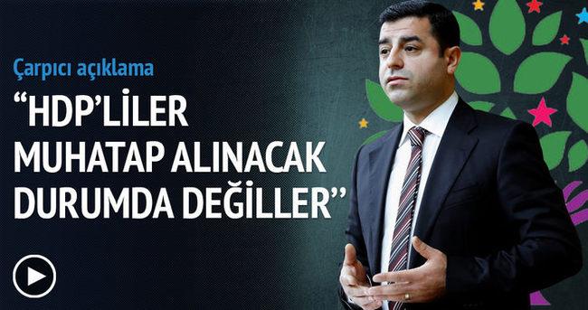İlnur Çevik: HDP'liler muhatap alınacak durumda değiller