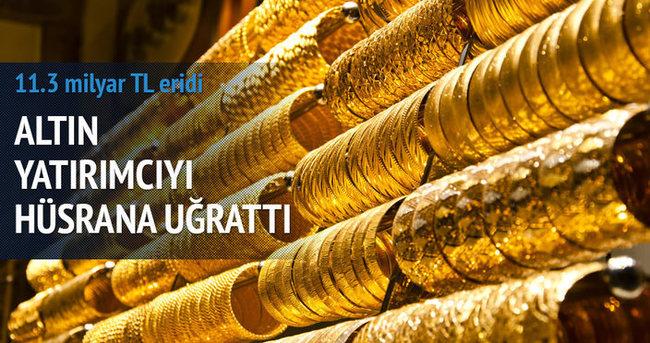 6 ayda 5 milyar altın bozduruldu