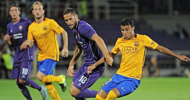 Fiorentina: 2 - Barcelona: 1