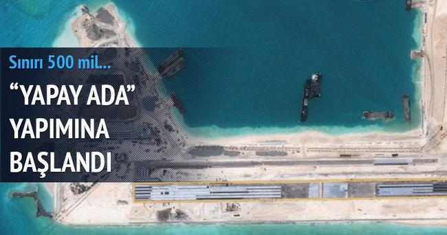 Çin, 'Yapay Ada' yapıyor