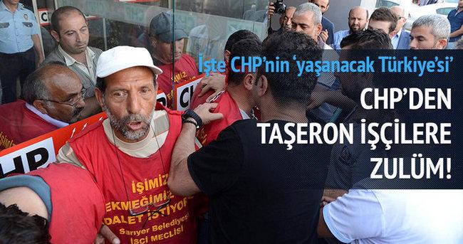 CHP'den taşeron işçilere zulüm