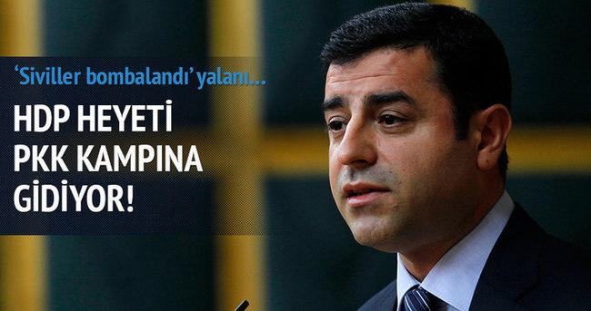HDP heyeti PKK kampına gidiyor