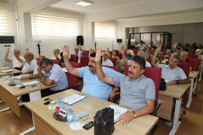 Efeler Belediye Meclisi Ağustos Ayı İlk Toplantısı Yapıldı