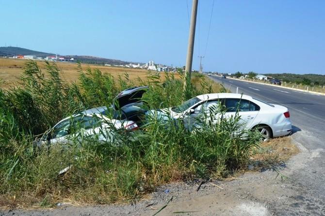 Ayvalık'ta Trafik Kazası: 6 Yaralı