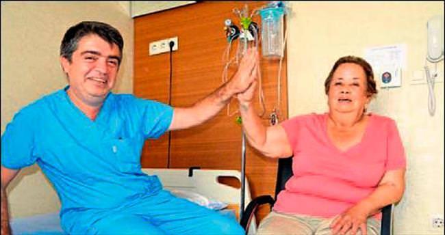 Meksikalı Teressa İzmir'de tedavi edildi