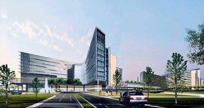 Sağlık Kampusu için dev beton tesisi