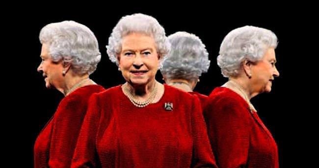 Dört farklı açıdan kraliçe