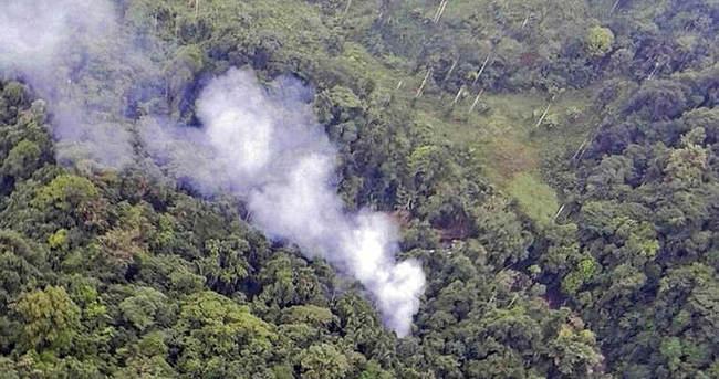 Kolombiya'da askeri helikopter düştü: 15 ölü
