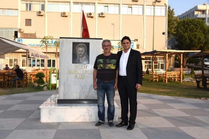 Fırat Çakıroğlu Parkı'na Duygulandıran Ziyaret