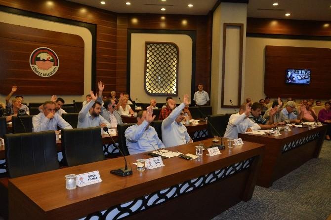 Körfez Belediyesi Ağustos Ayı Meclisini Gerçekleştirildi