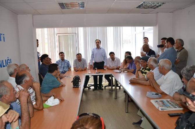 AK Partili Vekillerden Milas'a Ziyaret